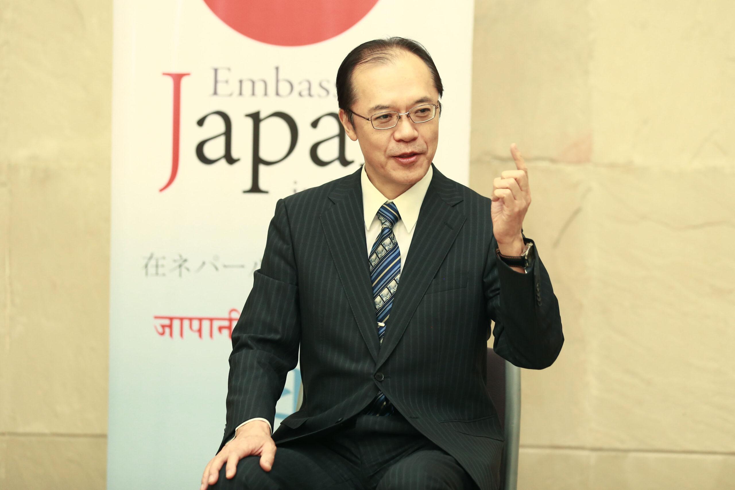कोभिड-१९ मा सुधार लगत्तै हामी नेपालीलाई जापानमा स्वागत गर्न चाहन्छौं : जापानी राजदूत किकुता