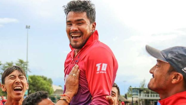 करणको कमालले नेपाली क्रिकेट टिम र समर्थकलाई नवमीकै दिन दशैं, क्यानडामाथी किर्तिमानी रोमाञ्चक जीत