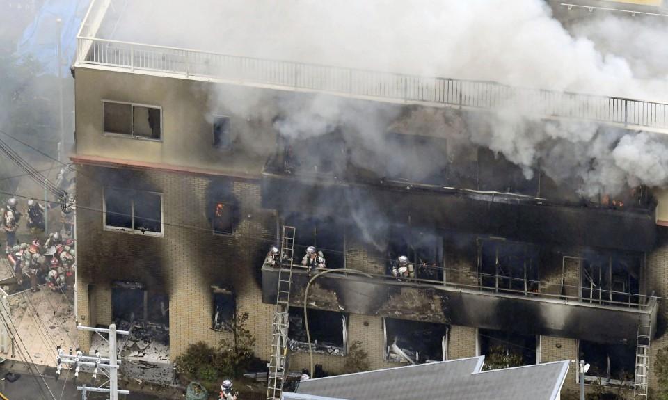 जापानको क्योतोमा आगलागिमा परि मृत्यु हुनेको संख्या ३४ पुग्यो