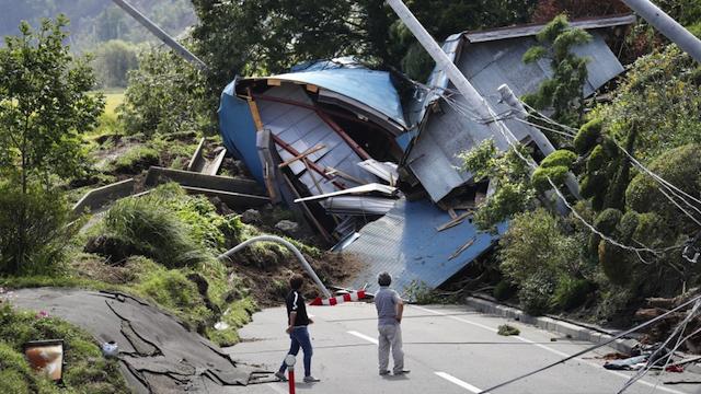 जापान होक्काइदो भूकम्पमा मृत्यु हुनेको संख्या बढेर ३५ पुग्यो, दुईदिनमा १३० बढी पराकम्प