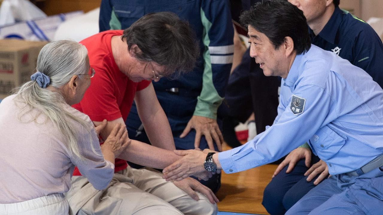 जापानमा सुनामीको झल्को दिने बिपत्तिमा १७५ को मृत्यु-८७ बेपत्ता, आबे पुगे पिडितलाई भेट्न (भिडियो सहित)