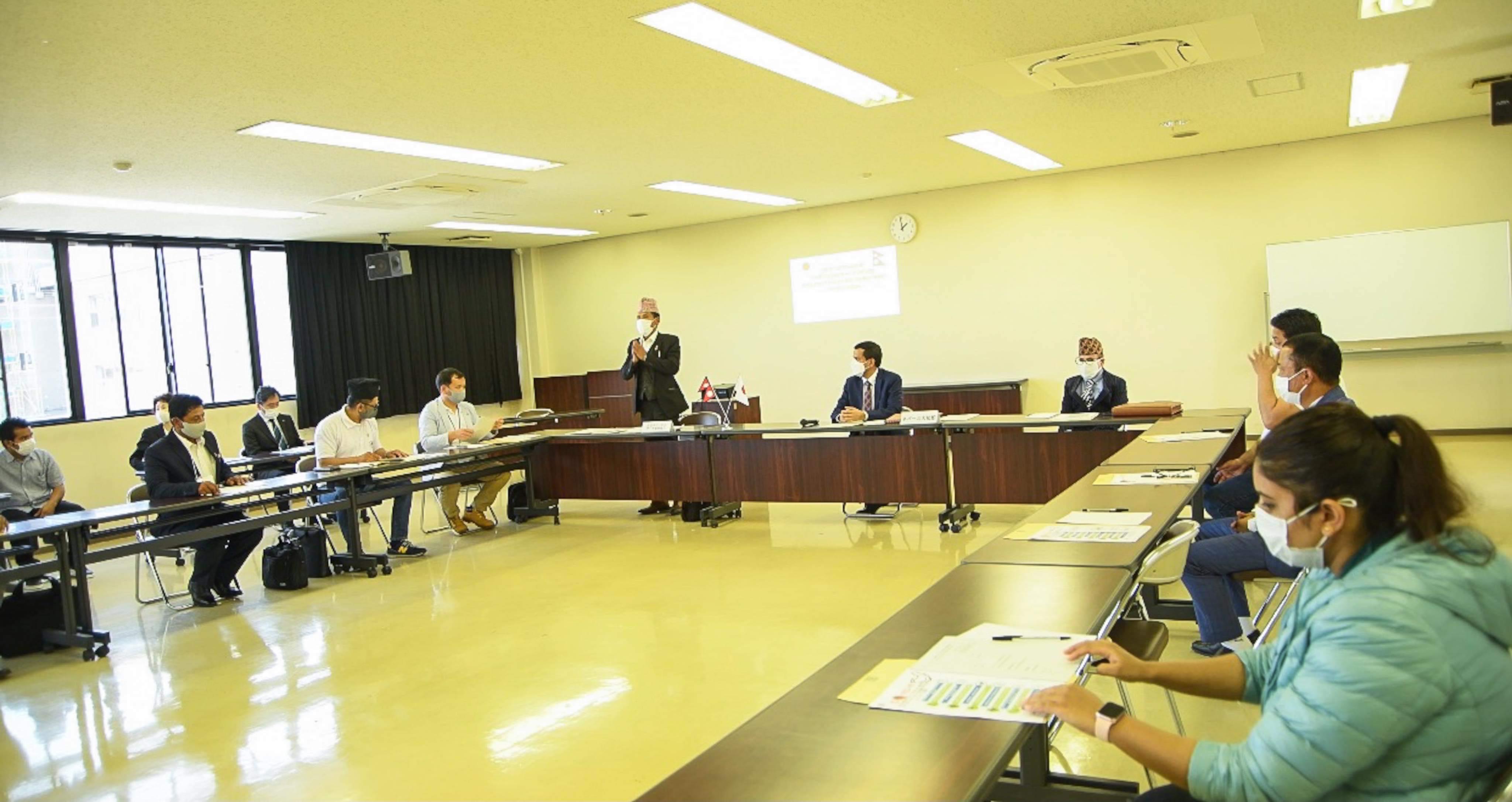 'जापानभर नेपाली साझा समाज जस्तै सक्रिय संस्थाहरुको खाँचो'-उपनियोग प्रमुख जोशी