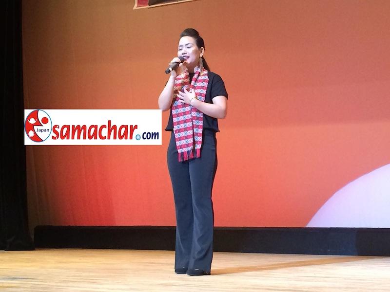 गायिका तथा अभिनेत्री माया माया गुरुङले जापानमा आयोजित सांगितिक कार्यक्रमा प्रस्तुत गर्नुभएको सुमधुर गितहरु