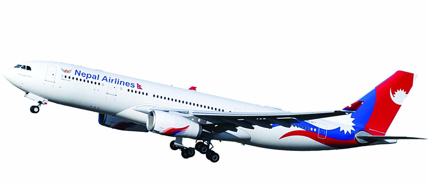 नेपाल एयरलाईन्स नेतृत्व व्यावसायिक योजनामा असफल, जापान ओसाका उडान आवश्यकता बाहिरको ठाउँमा