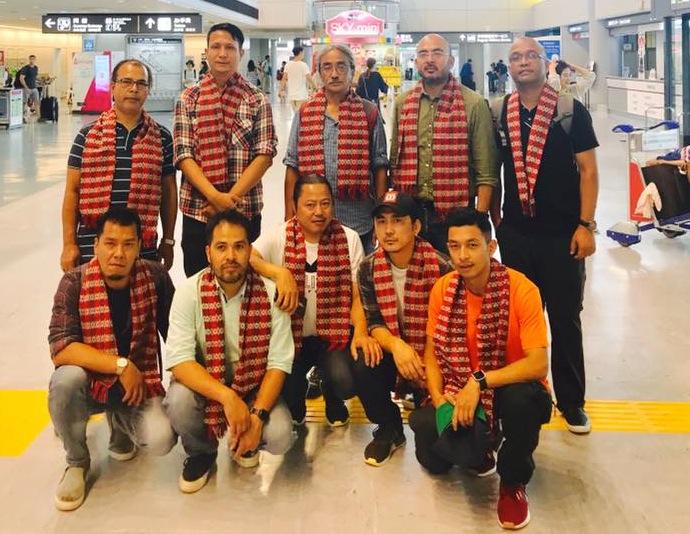 नेपथ्य ब्याण्डको टोकियोमा भव्य स्वागत, आउने शनिवार ऐतिहाँसिक कन्सर्ट हुँदै
