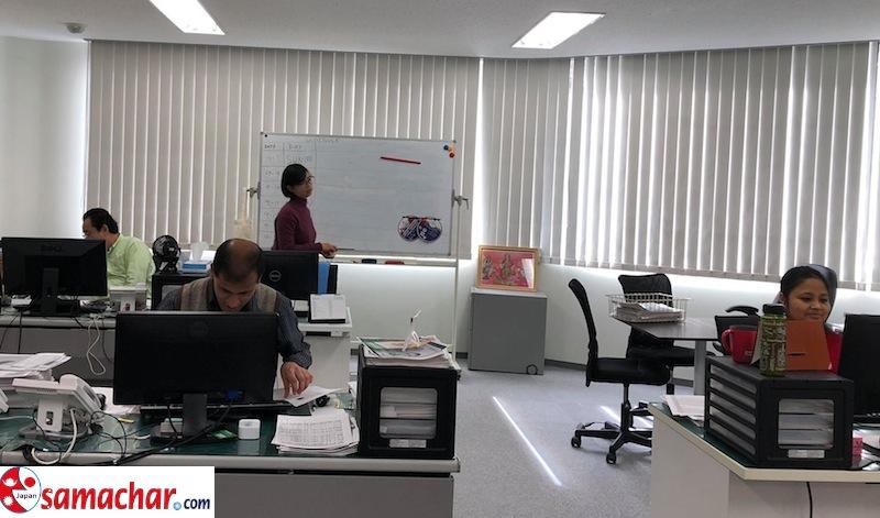 कोरोना संक्रमणबाट बच्न १३ प्रतिशत जापानी टेलिवर्कमा सम्लग्न