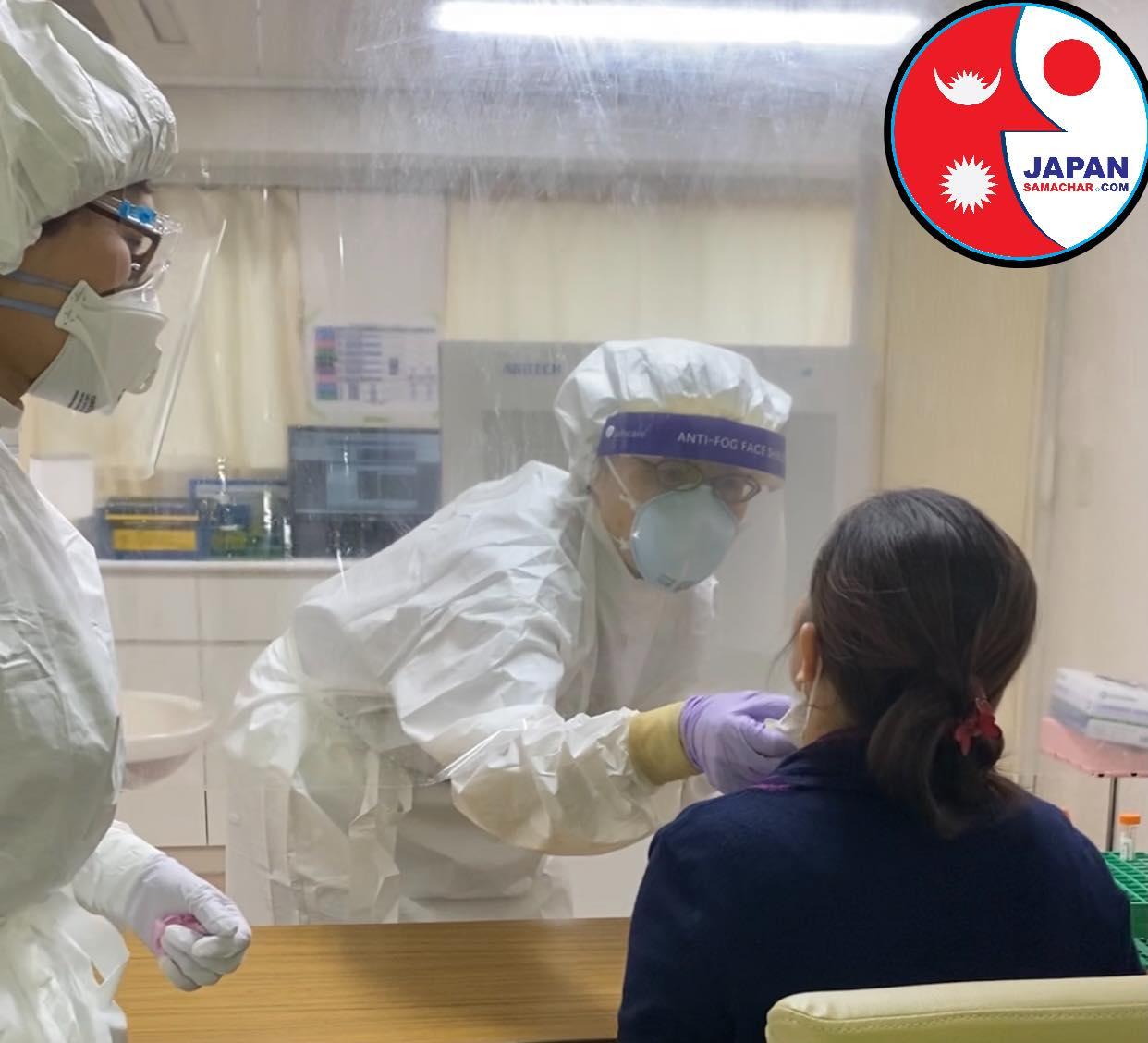 टोकियोमा कोरोना संक्रमण झन बढ्न थाल्यो