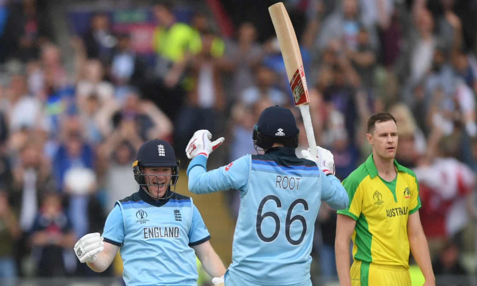 विश्वकप क्रिकेट-अष्ट्रेलियालाई ८ विकेटले हराउँदै इङ्ल्यान्ड फाईनलमा, उपाधिको लागि न्यूजिल्याण्डसँग भिड्ने