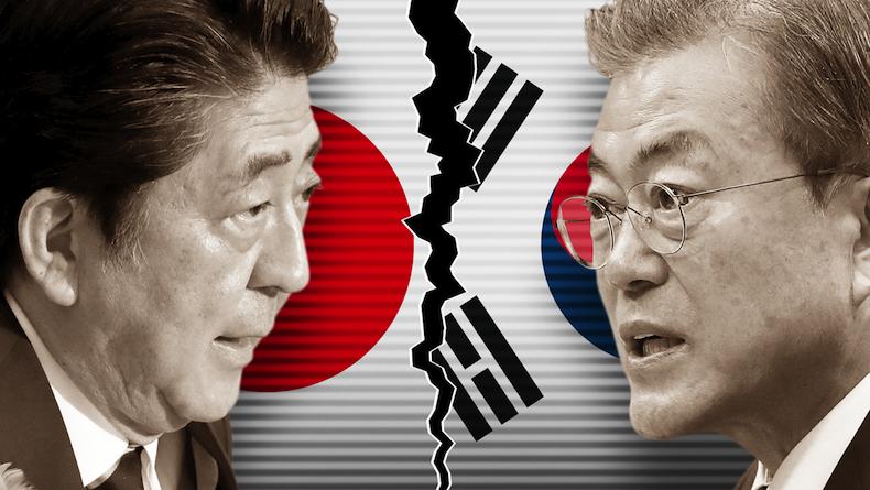 जापानले दक्षिण कोरियामाथि लगाएको निर्यात प्रतिवन्धबारे टोकियोमा दुई देशबिच बार्ता