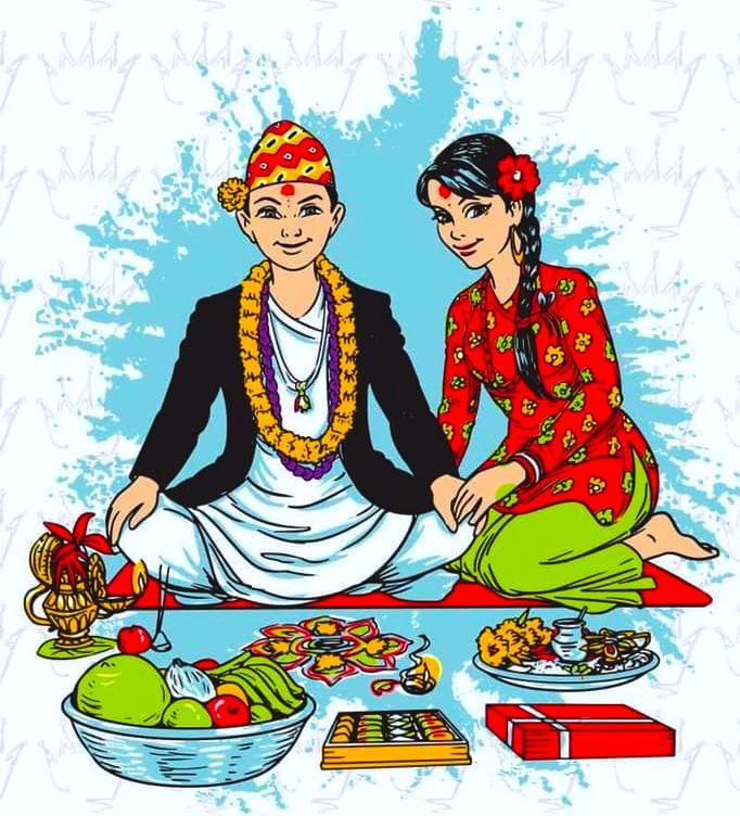 आज तिहारको भाइटीका, नेपाल संवत् ११४१ शुभारम्भ