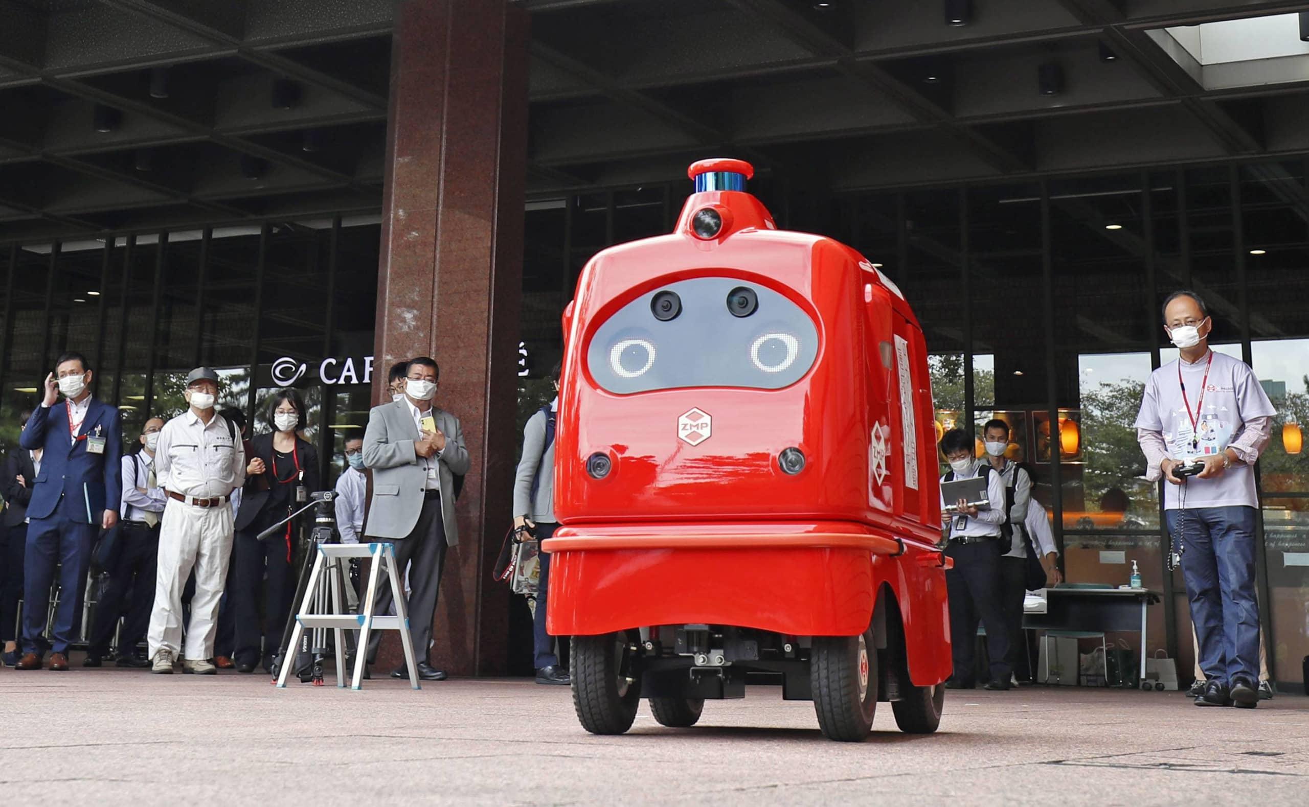 जनसंख्या घटेपछि प्रबिधिको भर ! टोकियोमा अब चिठिपत्र रोबोटले घरघरमा पुर्याउने
