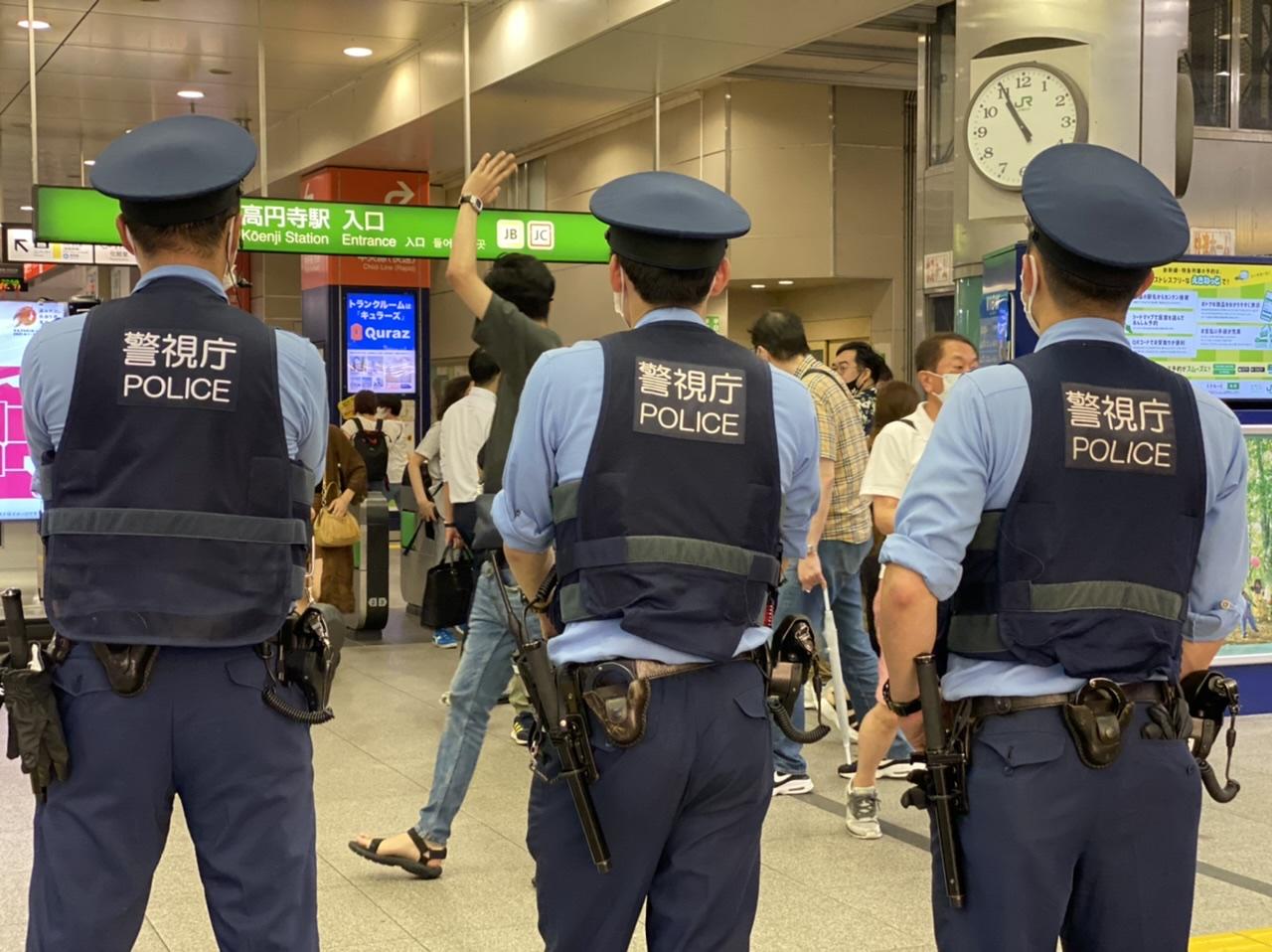 टोकियो आसपास रेलहरुमा आतंकवाद विरोधी विशेष निगरानी शुरू