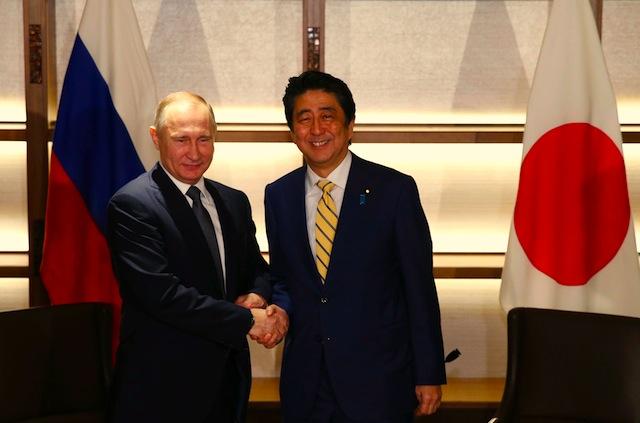 पुटिनद्धारा जापानसँग बिना कुनै शर्त शान्ति सम्झौताको प्रस्ताव