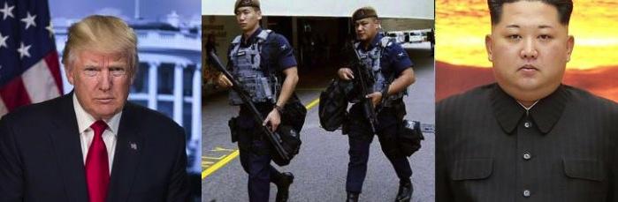 ट्रम्प किम भेटवार्ताको सुरक्षा नेपाली गुर्खाजले गर्ने, ट्रम्प किमप्रति नरम-आबे आक्रामक