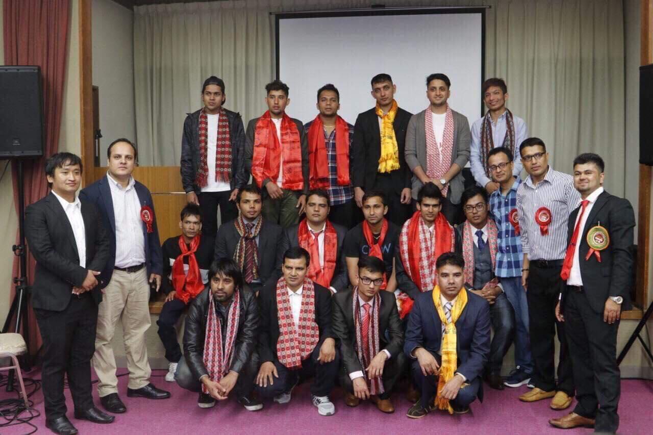 कृष्ण भुषाललाई अध्यक्ष चयन गर्दै जापानका दुई नेपाली विद्यार्थी संगठनबिच एकता